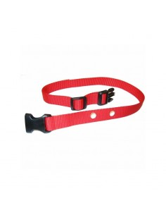 Heavy Duty Red Nylon Quick Release Collar